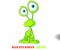 蓝眼精灵童装