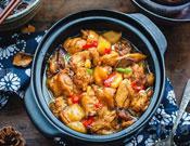 潤仟祥黃燜雞米飯