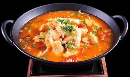 苗小坛酸汤鱼捞饭,真正意义上的绿色健康食品
